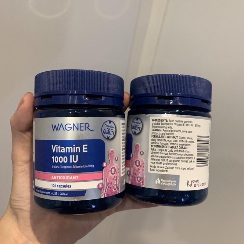 vitamin E Wagner 1000iu
