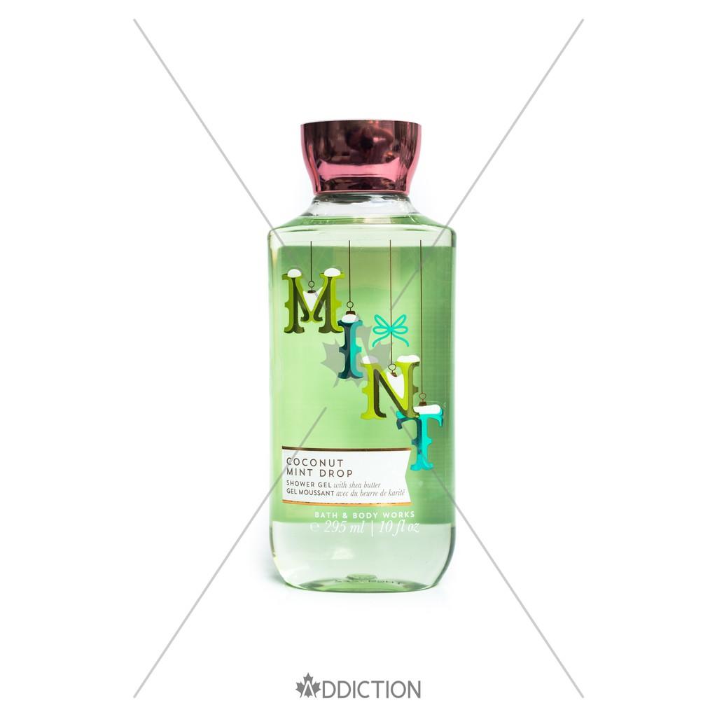 Sữa tắm mùa Giáng sinh Coconut Mint Drop - Bath & Body Works (295ml)