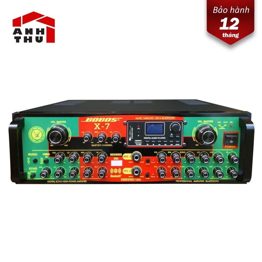 Amply karaoke Bobos X-7 Bluetooth
