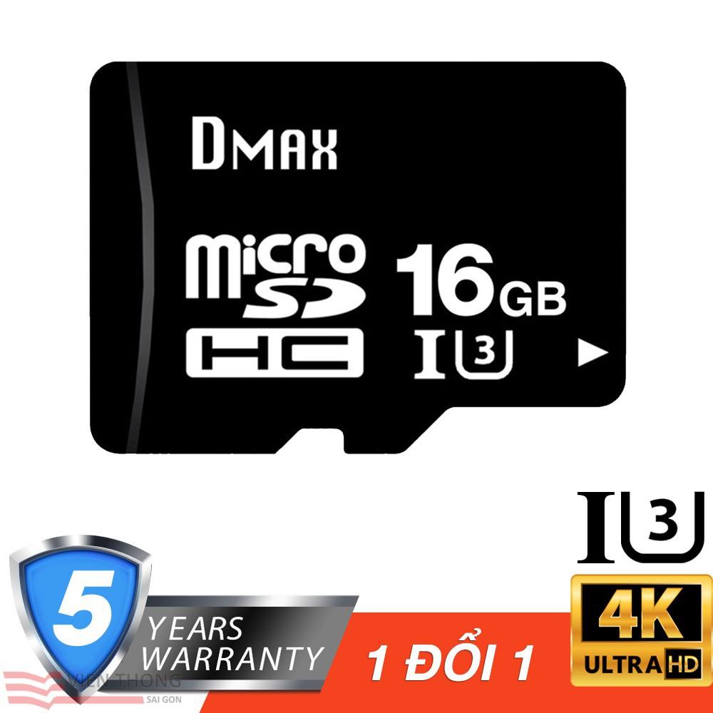 Thẻ nhớ micro SDHC Dmax 16GB class 10 U3 + tặng đầu đọc thẻ micro (ngẫu nhiên) - Bảo hành 5 năm - 15336417 , 1695678264 , 322_1695678264 , 86000 , The-nho-micro-SDHC-Dmax-16GB-class-10-U3-tang-dau-doc-the-micro-ngau-nhien-Bao-hanh-5-nam-322_1695678264 , shopee.vn , Thẻ nhớ micro SDHC Dmax 16GB class 10 U3 + tặng đầu đọc thẻ micro (ngẫu nhiên) - B