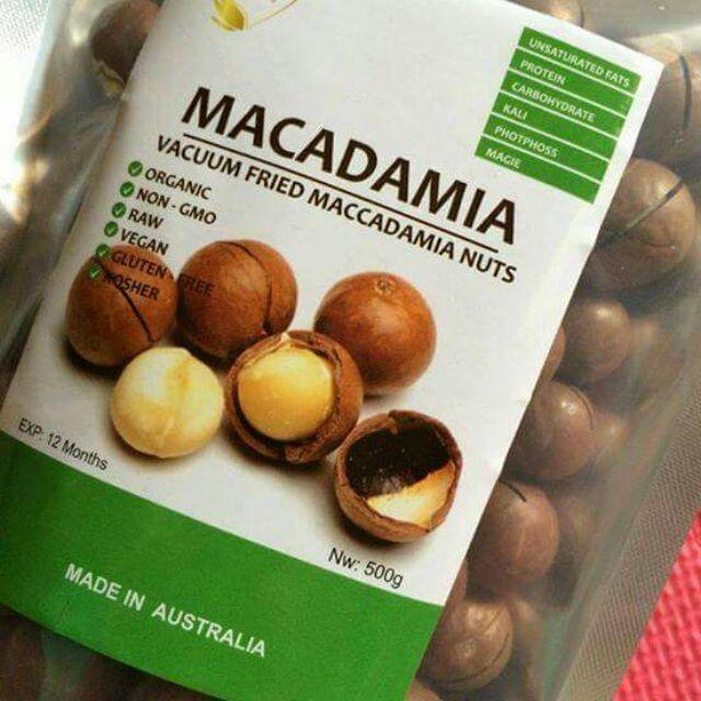 Hạt Macadamia 500g amyshop