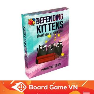 Card game Defending Kittens Mèo Nổ Bản Mở Rộng 1 F(ngẫu nhiên)