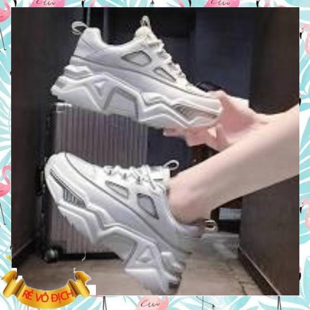 [SALE XẢ HÀNG]  Giày Sneaker Nữ Viền Phát Quang