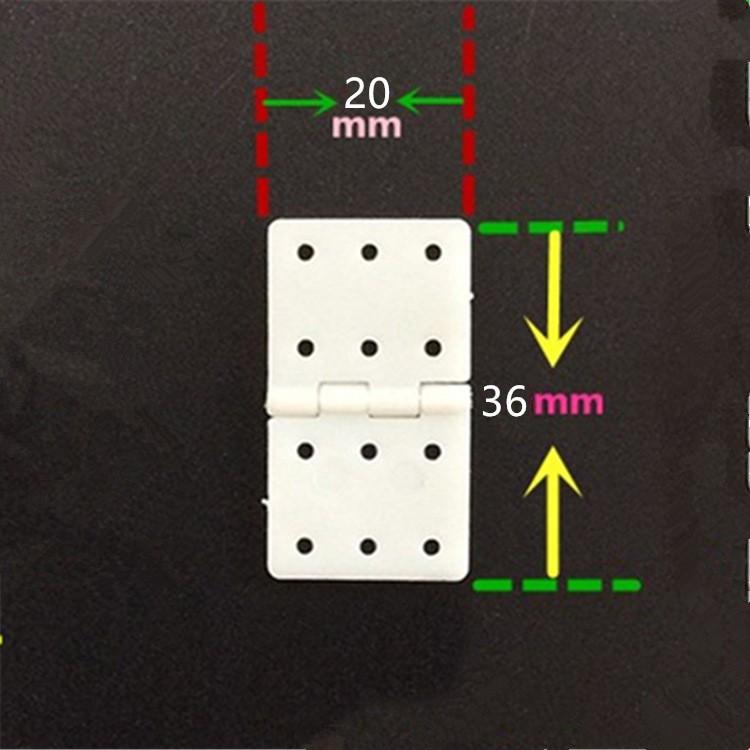 Bản lề nhựa 20x36mm