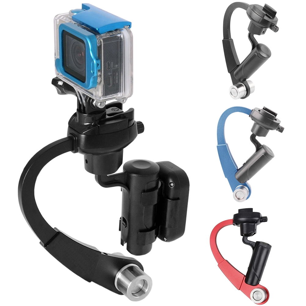 Stable Reduce Vibration Camera Stabilizer Handheld Anti-slip Accessories Protective Quick Release For Go Pro