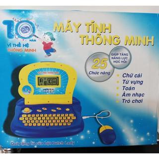 đồ chơi laptop màn hình thật có chuột. 25 chức năng học và chơi