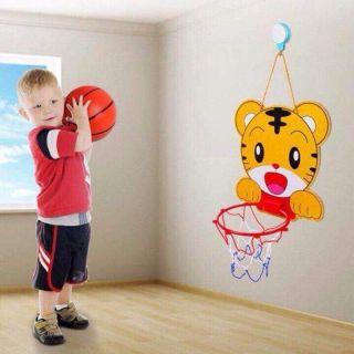 Đồ chơi bóng rổ treo tường cho bé