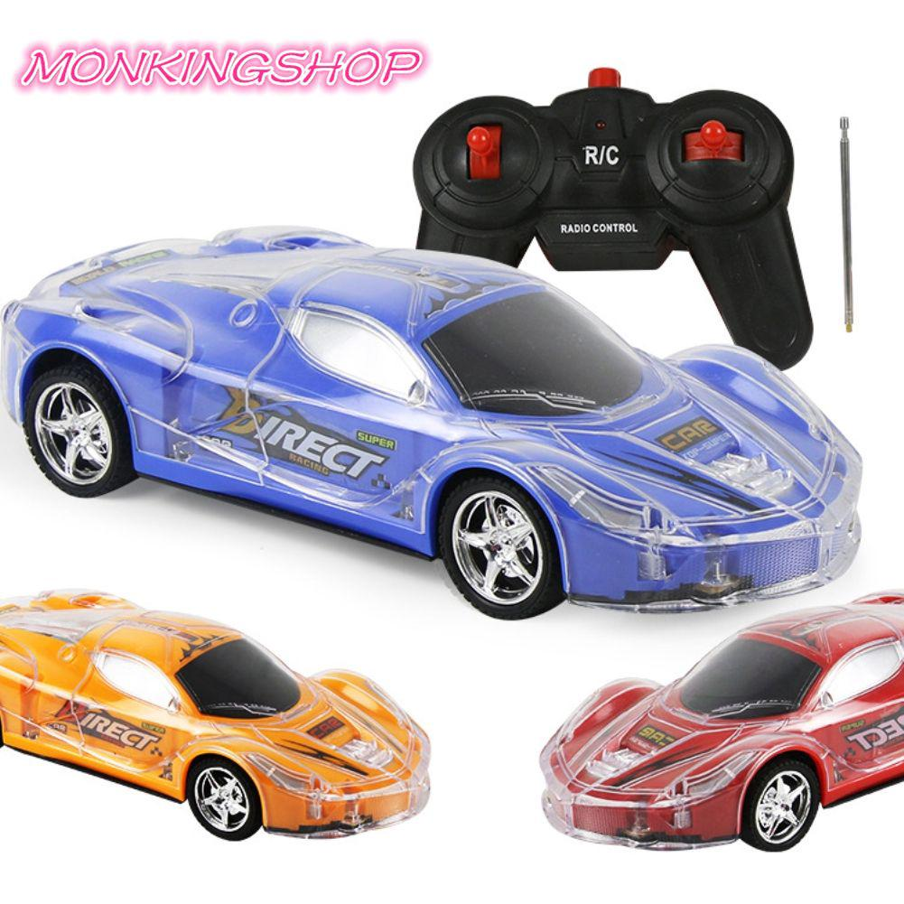 MK 1/24 RC Car High Speed Remote Control RC Racing Car With 3D Lights Kids Toy MK