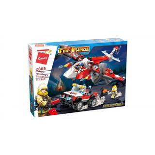 Bộ xếp hình Lego 2805 chủ đề cứu hỏa cho bé