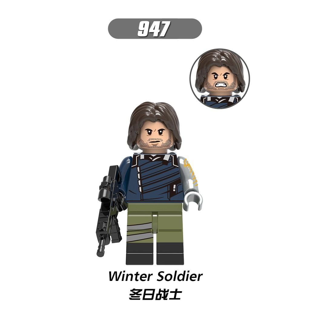 Minifigures Các Nhân Vật trong Marvel - Mini Non LEGO