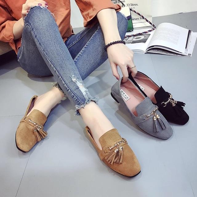 (ORDER) Giày lười nữ phong cách BL003