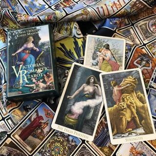 Bộ bài The Victorian Romantic Tarot k453