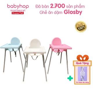 Ghế ăn dặm cho bé Glosby Babyhop kèm mặt bàn,ăn dặm kiểu nhật&BLW, 2 chế độ chân, cho bé từ 6 tháng thumbnail