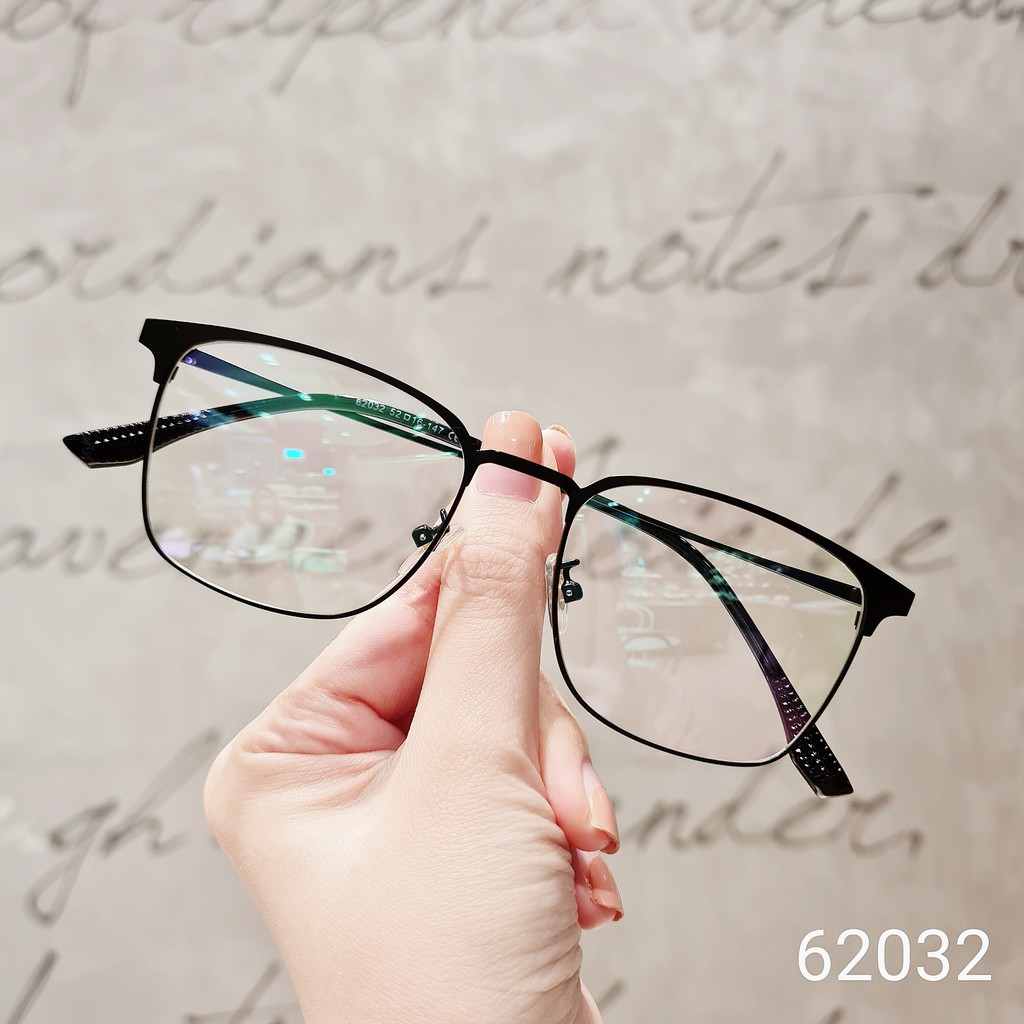 Gọng kính cận thời trang nam nữ Lilyeyewear mắt vuông nhiều màu sắc - 62032