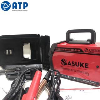 Máy hàn điện tử mini inverter Sasuke mã ZX7-200N l Có đồng hồ