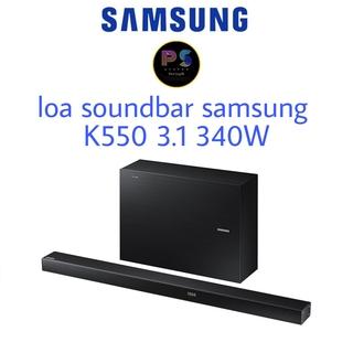 Loa thanh soundbar samsung k550 3.1 340W chính hãng mới 100% thumbnail