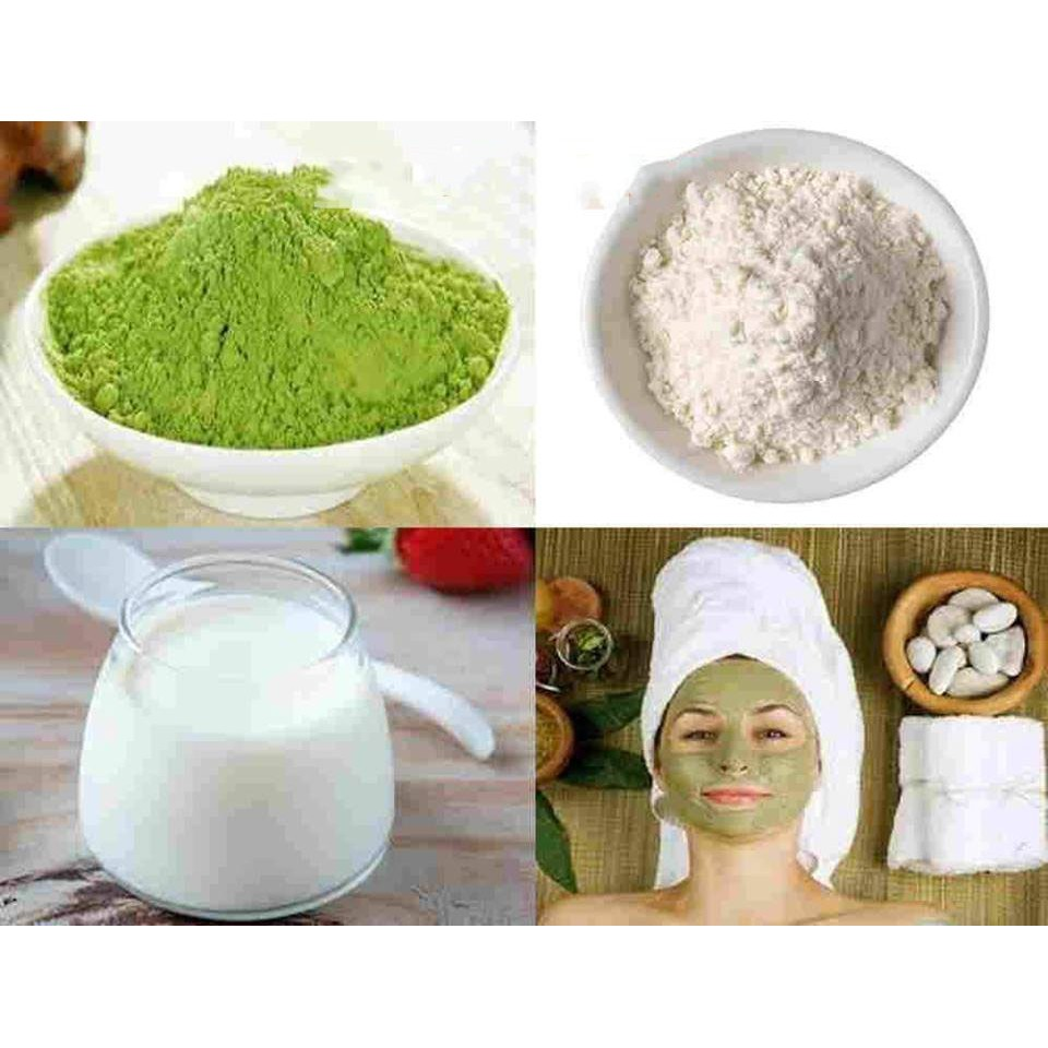 Tinh bột cám gạo trà xanh | Shopee Việt Nam