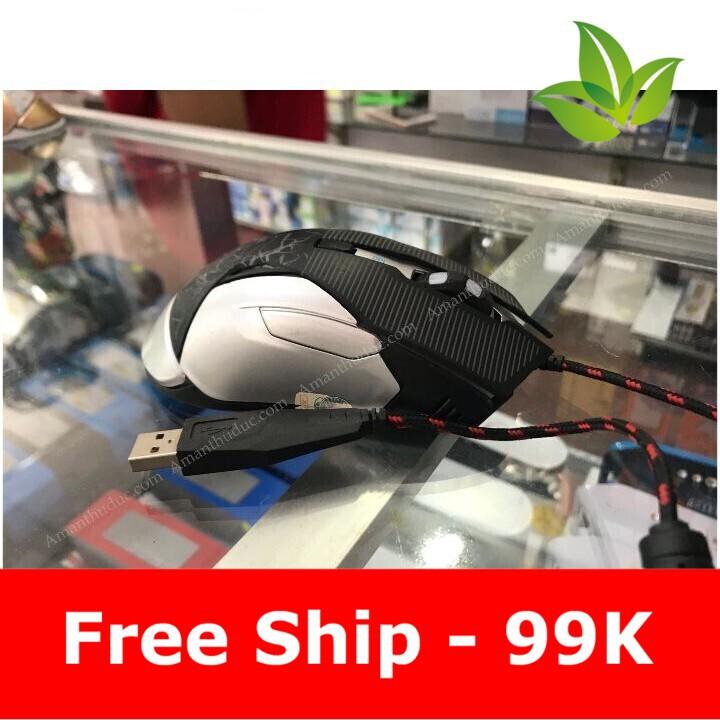 [Flash sale] THIẾT BỊ CHUỘT CHUYÊN GAME R8 1651 – LED 3D Giá chỉ 182.500₫