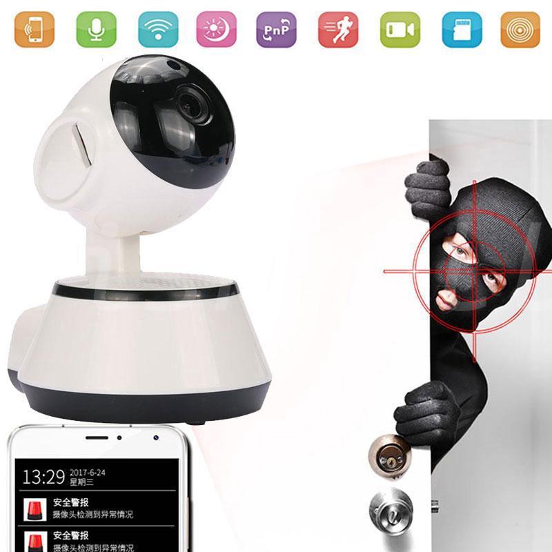 COD] Webcam WIFI IP Camera Cam V380 1080P HD Mini - COD Webcam WIFI
