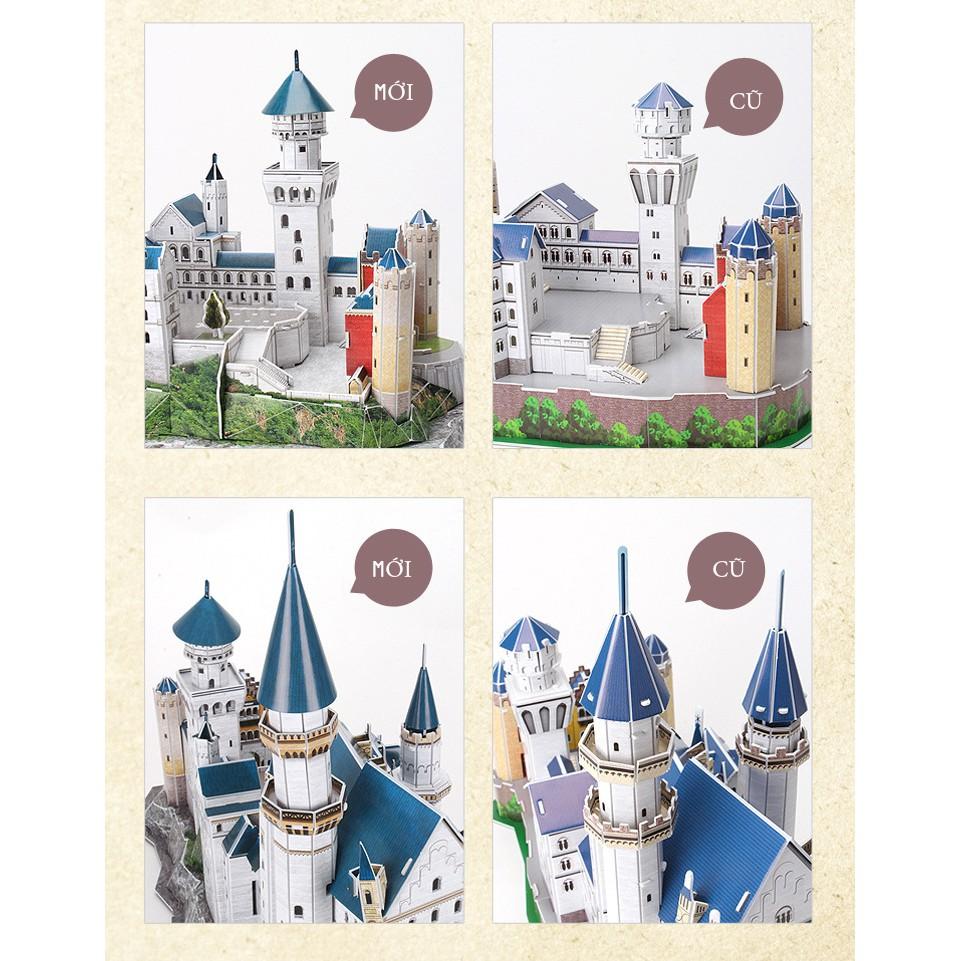 Mô hình giấy 3D CubicFun - Lâu đài cổ tích Neuschwantein - Đức (MC062h-2)