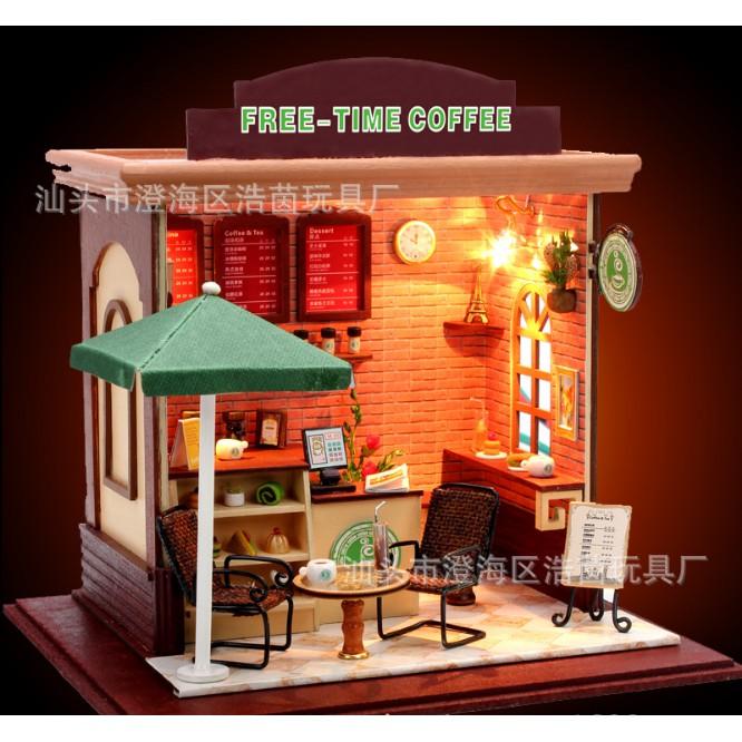 Quán cafe tình yêu nhà búp bê - Free Time Coffee Bar