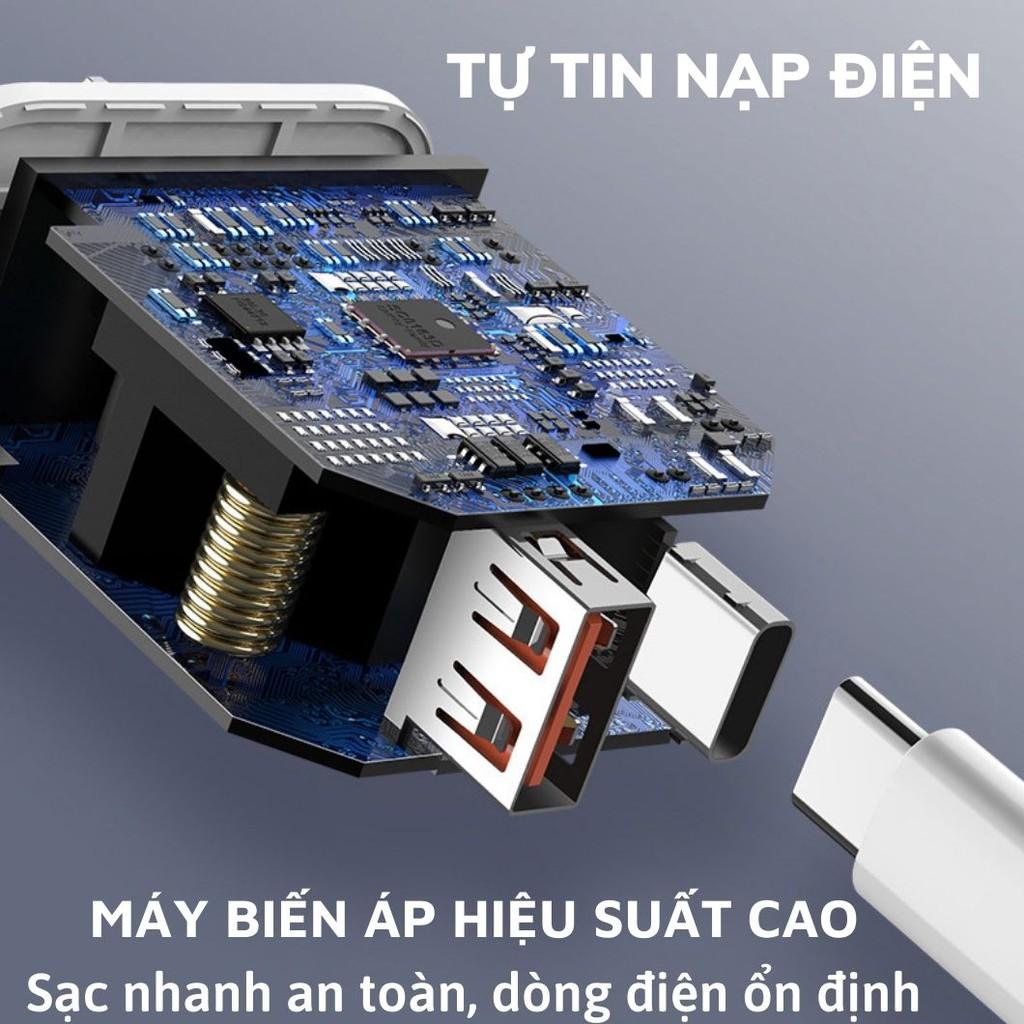 BỘ SẠC NHANH 18W IPhone chính hãng REMAX { SẠC CỰC NHANH } USB-C CÔNG NGHỆ PD - Memotop