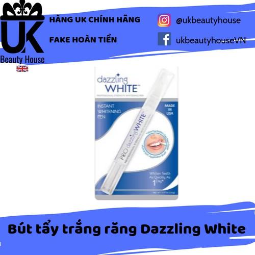 Bút tẩy trắng răng Dazzling White trắng ngay sau 1 ngày sử dụng