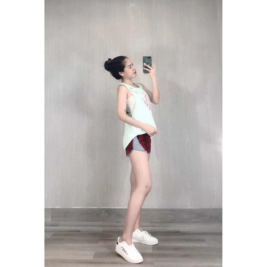 Mặc gì đẹp: Năng động với Áo tập Zumba,Gym, Yoga, Aerobic, thể dục nữ (tank top kiểu dáng trẻ trung, nhiều màu sắc lựa chọn)