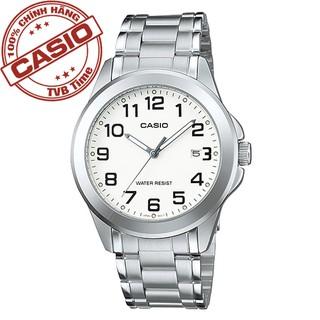 Đồng hồ nam dây thép không gỉ Casio Standard Anh Khuê MTP-1215A-7B2DF