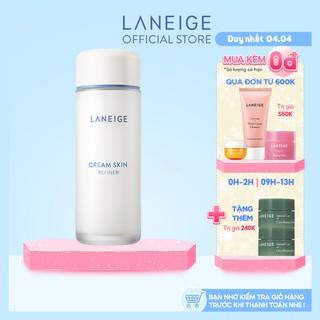 """[Mã FMCGMALL -8% ĐH250k]Nước cân bằng dưỡng ẩm Laneige Cream Skin Refiner 150 ml giá chỉ còn <strong class=""""price"""">47.900.000.000đ</strong>"""