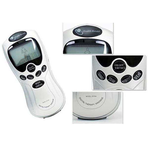 Máy Massage trị liệu Digital Therapy Machine 12 miếng dán cho bộ máy