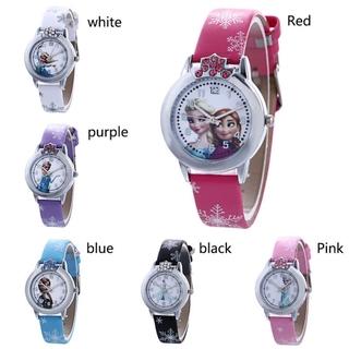 Đồng hồ Quartz chống thấm nước hình công chúa cho bé gái