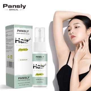 Pansly Brand/8 mins Hair off Removal Spray/ Face Body Bikini Legs Armpit Painless Hair Removal Spray