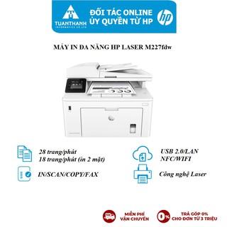 Máy in đa chức năng HP LaserJet Pro MFP M227fdw_1Y WTY_G3Q75A