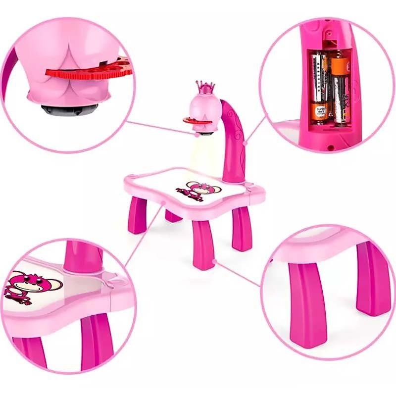bàn chiếu vẽ tranh-bàn vẽ có hình in-bàn trẻ em-bảng 3D-đồ chơi