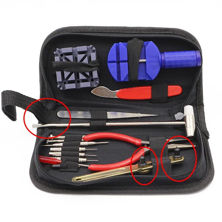 Bộ dụng cụ tháo lắp sửa chữa đồng hồ tiện dụng đầy đủ các chức năng MTS-1701 Tặng kèm Túi Đựng 9 món