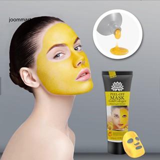 Tuýp mặt nạ Collagen dạng lột màu vàng chống lão hóa loại bỏ mụn đầu đen hiệu quả thumbnail
