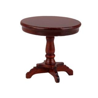 Mô hình bàn tròn tỉ lệ 1 12 cho nhà búp bê