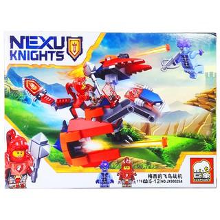 Bộ Lego Xếp Hình Ninjago Siêu Robot Khủng Long Đỏ. Gồm 176 Chi Tiết. Lego Ninjago Lắp Ráp Đồ Chơi Cho Bé