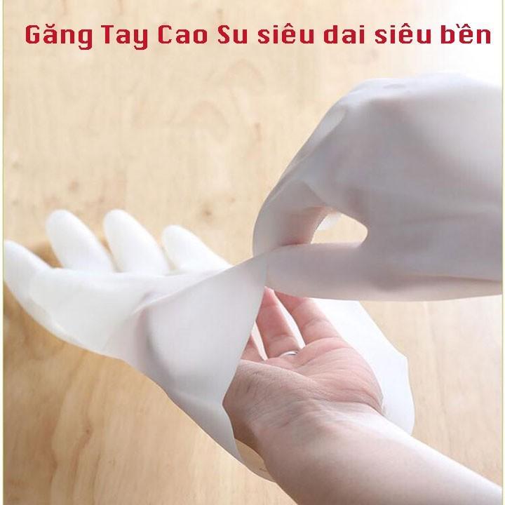 [Mã HCSALE25 giảm 10% đơn 150K] Xả sốc 3 ngày đôi găng tay cao su siêu dai chống hao mòn bảo vệ đôi tay 00222