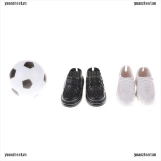 【YUANZHEN1】Clothes Accessories Shoes Sneakers and Football For Friend Dolls Ac