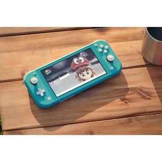 Máy chơi game Nintendo switch lite - xanh xám thumbnail