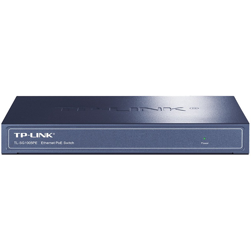 TP-Link TL-SG1005PE 4-port full Gigabit PoE switch AP monitoring...