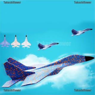 Takashiflower♥EPP Foam Hand Throw Airplane Outdoor Launch Glider Plane Kids Gift Toy