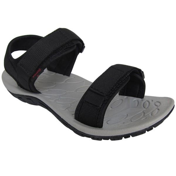 Sandal Vento chính hãng xuất Nhật đen quai ngang