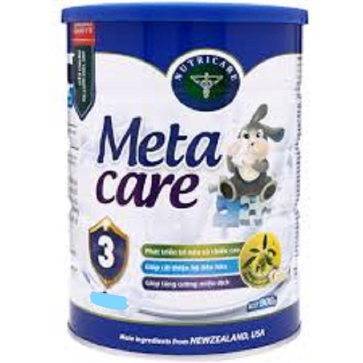 Sữa Meta Care 3 loại 900g - 2558477 , 31617740 , 322_31617740 , 291000 , Sua-Meta-Care-3-loai-900g-322_31617740 , shopee.vn , Sữa Meta Care 3 loại 900g