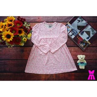 Váy Đầm Bé Gái BABYDOLL Dài Tay - Vải Xuất Dư Xịn 8kg-20kg - SIÊU RẺ SIÊU ĐẸP
