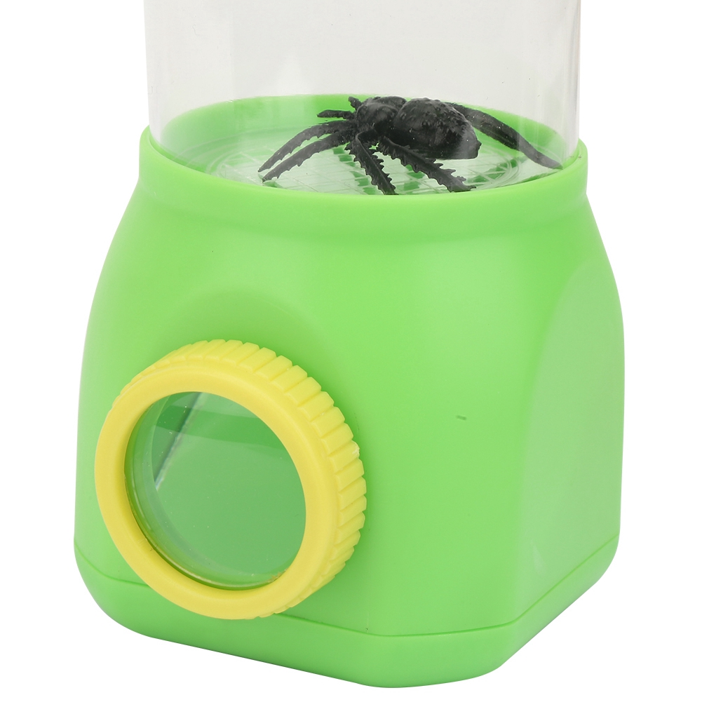 Justgogo Portable Kids Explorer Toy Insect Observation Cup Magnifier Magnifying Glass
