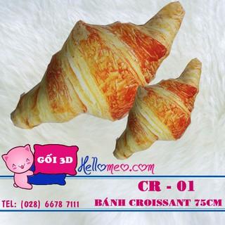Gối Ôm Bánh Mì Croissant 85cm