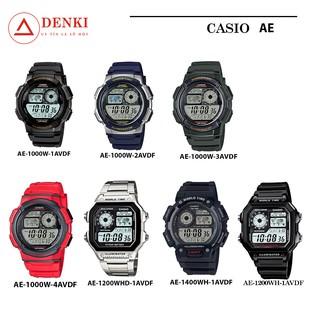 [FULL MÀU] Đồng hồ nam thể thao Casio chính hãng Anh Khuê AE, AE-1000W, AE-1200WHD, AE-1400WH thumbnail